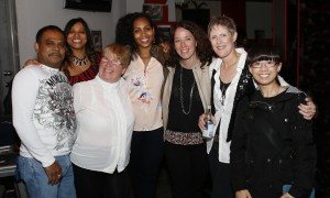 Erin with Friends & Former Nursing Colleagues at The Duke Live in Toronto Oct 3, 2015, CD Release Party