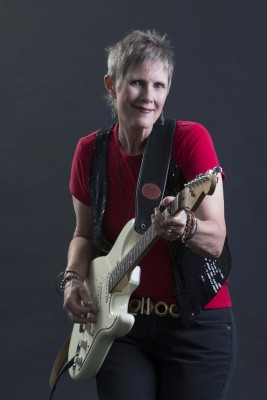 Erin and her Fender Strat 2015 Photo Shoot
