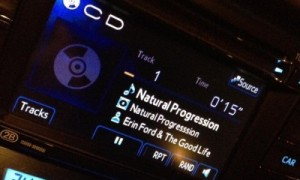 Fun Photo From Friend & Fan Peter Tong Listening to his Natural Progression CD